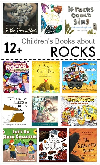 Over 12 Children's Books about Rocks and Geology (both fiction and nonfiction for grades preschool through 5th). Great addition to teaching of Next Generation Science Standards (NGSS) ~ BuggyandBuddy.com