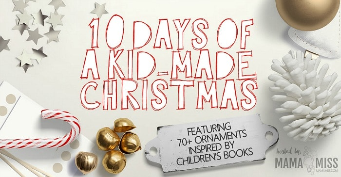 christmas ornament crafts for kids inspired by children's books