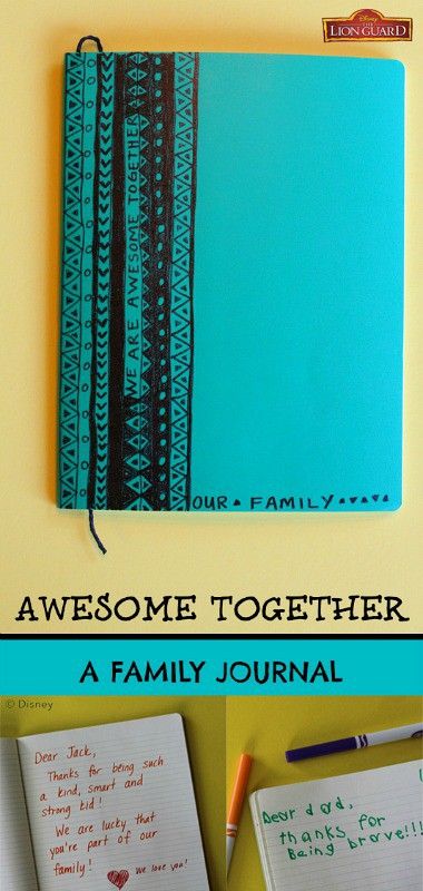 Awesome Together Family Journal Inspired by The Lion Guard