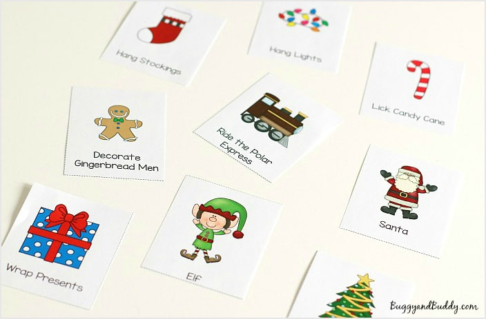 Free Printable Christmas Charades Game for Kids
