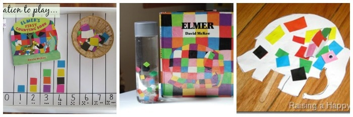 Elmer the Elephant Activities