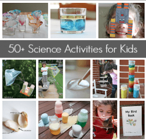 science activities and experiments for kids