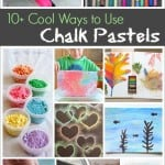 10+ Cool Ways to Use Chalk Pastels