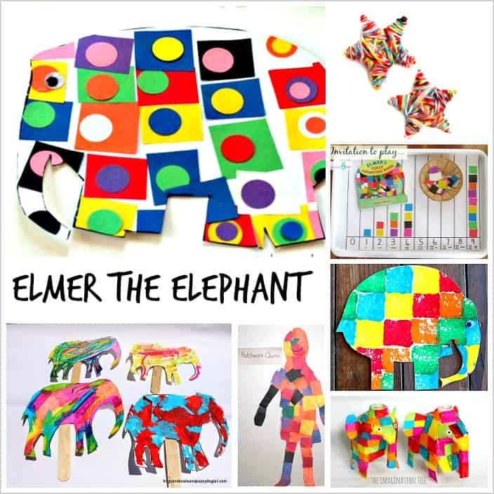 Elmer the Elephant Crafts and Activities for Kids