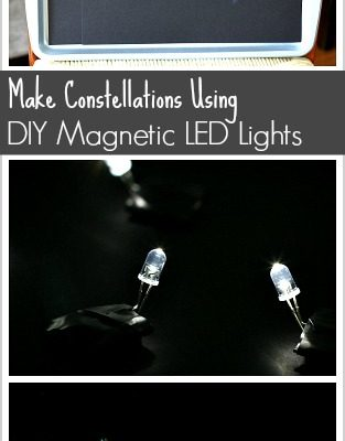 Astronomy for Kids: Make Constellations Using DIY Magnetic LED Lights