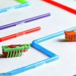 STEM Challenge for Kids: Build a Hexbug Maze Using Straws