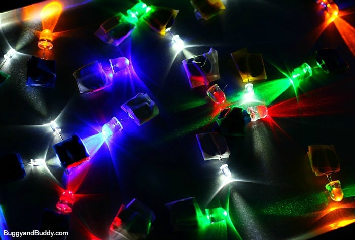 Science for Kids: Explore magnetism and circuits with LED throwies