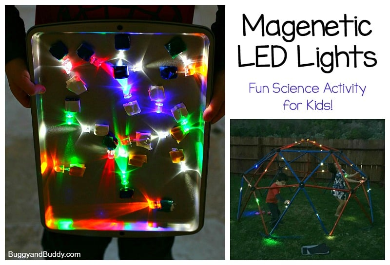 Science for Kids: DIY Magnetic LED Lights