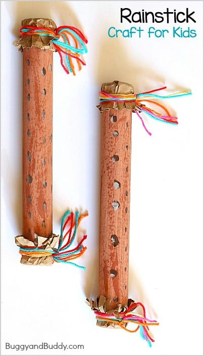 How To Make A Rainstick Instrument Buggy And Buddy