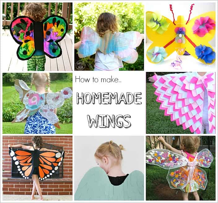 12 DIY Wings to Make for Kid Costumes - Buggy and Buddy