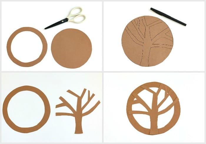 hanging tree craft for kids