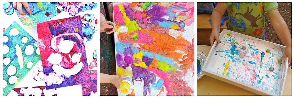 process art for preschoolers