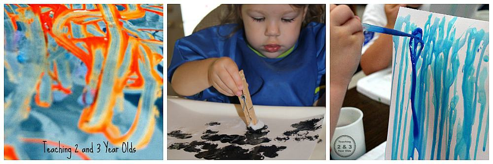 easy process art activities for kids