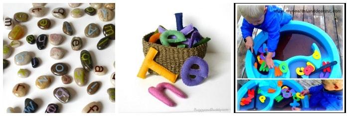 sensory alphabet play