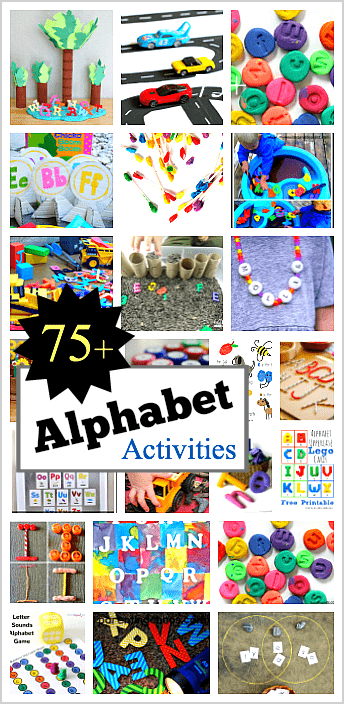 75+ Hands-on Ways to Explore the Alphabet