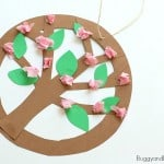Hanging Tree Blossoms Craft for Kids