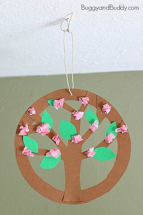Tree Blossom Flower Craft for Kids