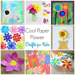 12 Cool Paper Flower Craft for Kids