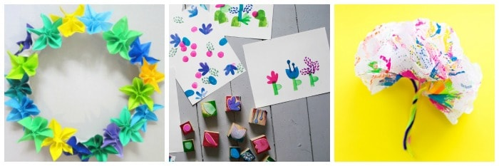 cool flower crafts for kids