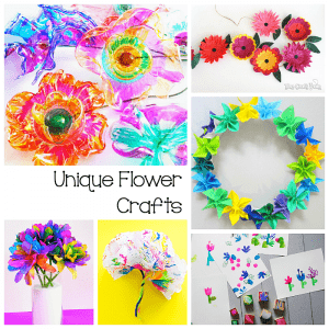9 Super Cool Flower Crafts for Kids
