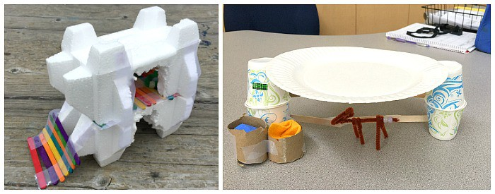STEM Challenge for Kids: Design a sun shelter for uv-sensitive beaded animals