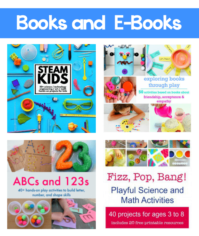 Must-have Books and Ebooks for teachers, homeschoolers, and parents!