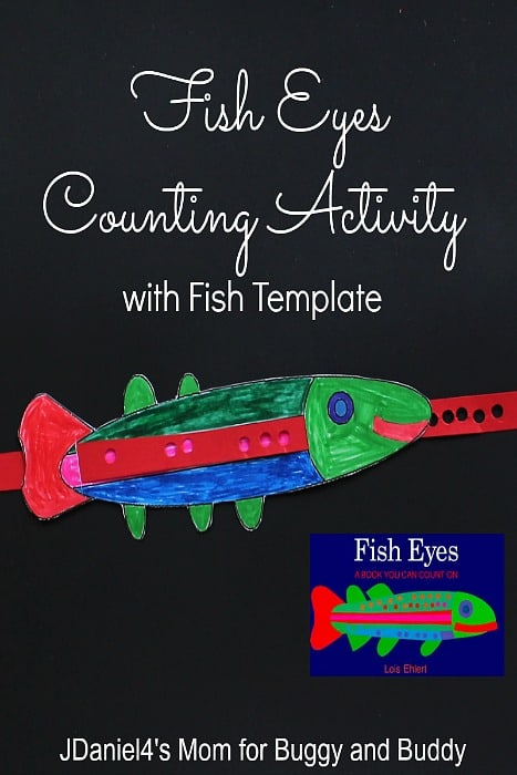 Fish Eyes Counting Activity for Kids