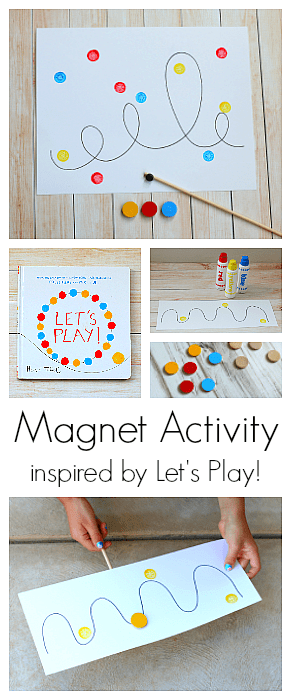 Creative Magnet Activity For Kids Inspired By Herve Tullet