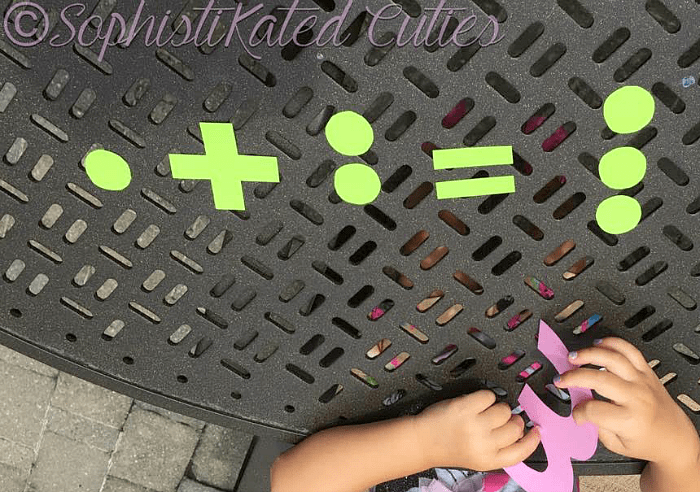 Counting and Number Activity for Kids inspired by the book 1-2-3 Peas