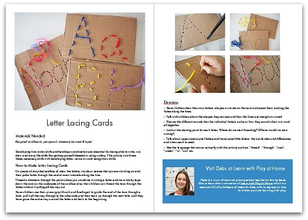 ABCs and 123s: 40+ Literacy and Math Activities for Kids