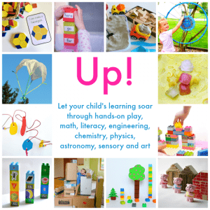 Up! Ebook: 30+ Hands-on Learning Projects from Blocks to Rockets