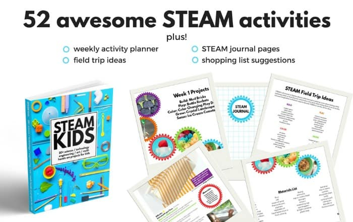 STEAM Kids: 50+ STEAM STEM activities for kids
