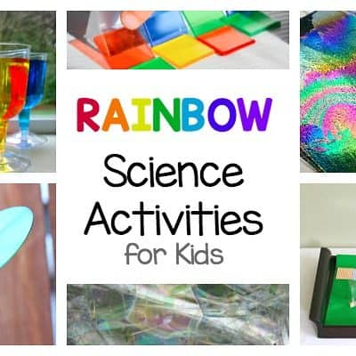 Rainbow Science Activities for Kids