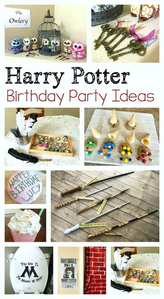 Be Sure To Follow Our Birthday Party Pinterest Board For Even More Ideas Harry Potter Themed