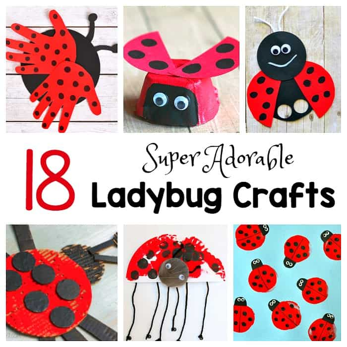 Ladybug Craft Ideas For Toddlers