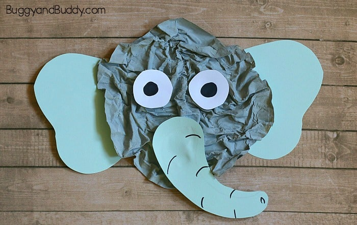 elephant craft for kids