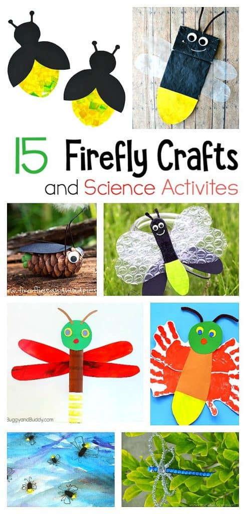 Firefly Crafts for Kids - Buggy and Buddy