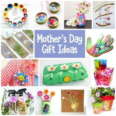 Mother's Day Homemade Gifts for Kids to Make
