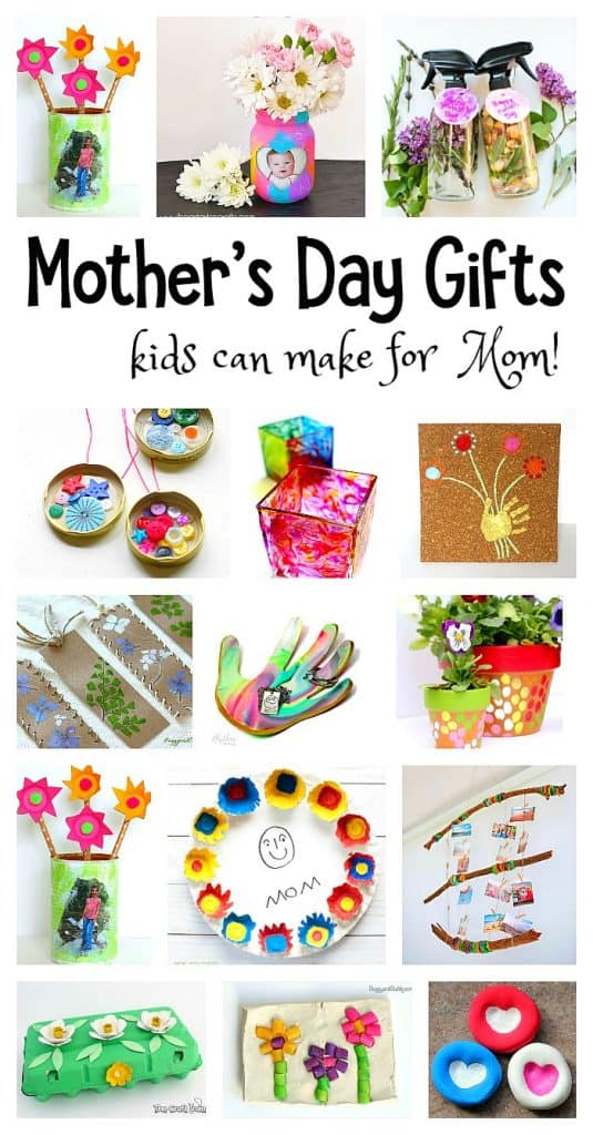 Over 20 Homemade Mother's Day Gift Ideas for Kids to Make