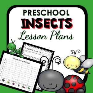 preschool activities about bugs and insects