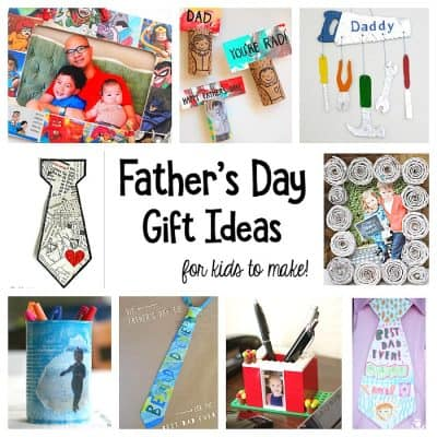 Father's Day Homemade Gifts for Kids to Make