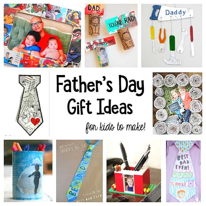 Homemade Gift Ideas That Kids: Father's Day Homemade Gifts For Kids To Make