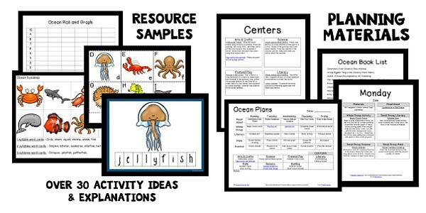 ocean learning unit for teachers
