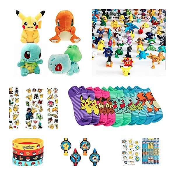 Pokemon Birthday Party Favor Ideas