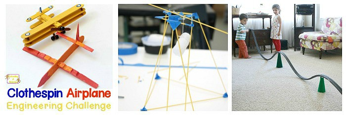25+ STEM Challenges for Kids focused on building, engineering, and design