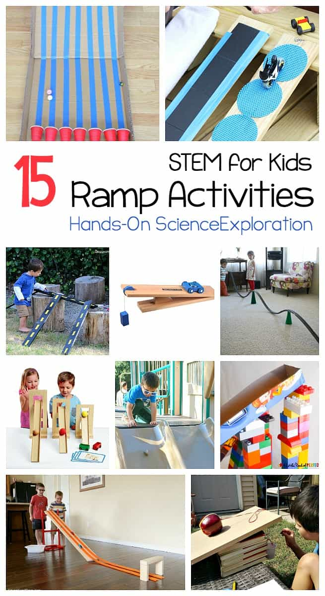 15 Science experiments for kids using ramps and inclined planes