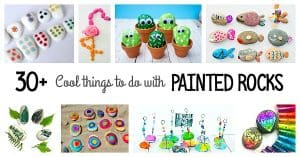 30+ Cool Things to Do with Painted Rocks