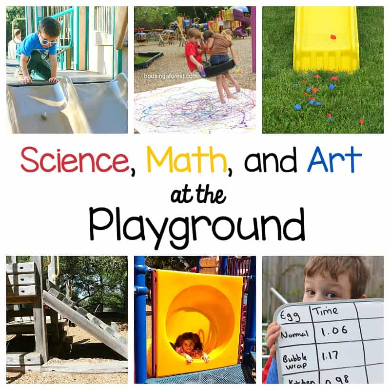 Science, Math, and Art Activities for Kids at the Playground