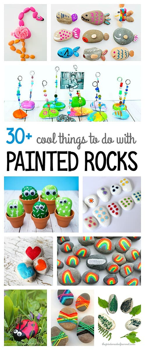 Over 30 Cool Ways To Use Painted Rocks And Unique Interesting Paint