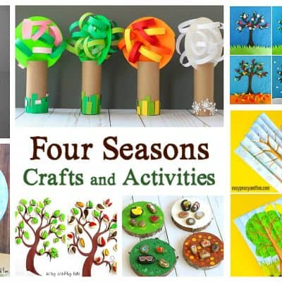 15 of the Cutest Four Seasons Crafts and Activities for Kids